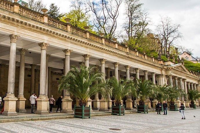 qué hacer en Karlovy Vary: Mlýnská kolonáda