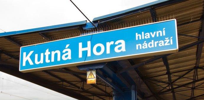cómo llegar a Kutná Hora desde Praga: Kutná Hora (Kutná Hora hlavní nádraží)