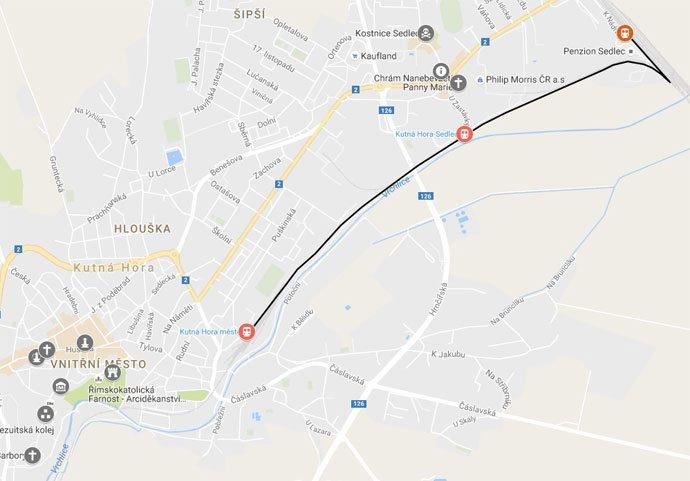 cómo llegar a Kutná Hora desde Praga
