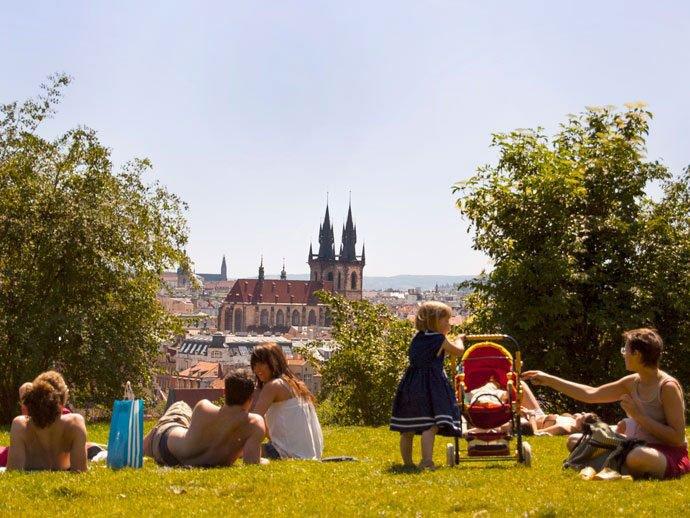 cuándo visitar Praga: el verano