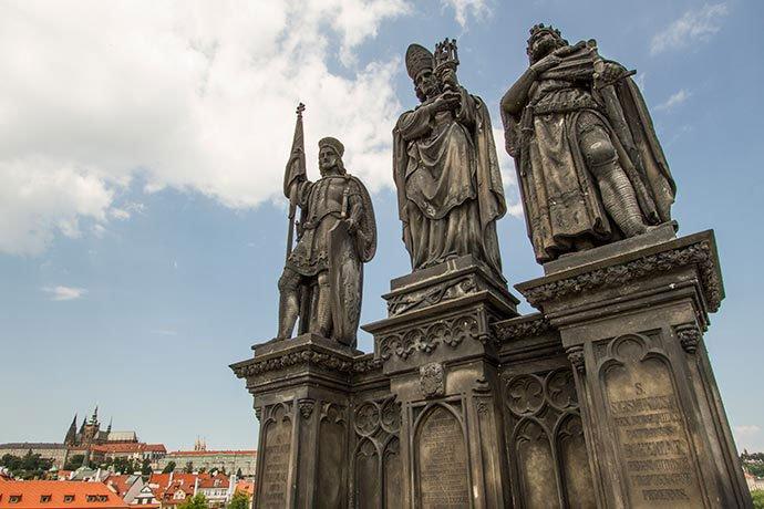 San Norberto, San Wenceslao y San Segismundo
