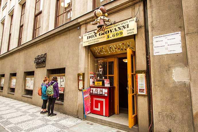 teatro nacional de marionetas, praga