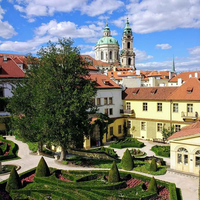 jardines de Praga: Jardín Vrtba
