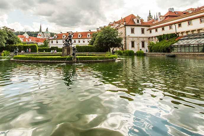 jardines de Praga: Jardín de Wallenstein
