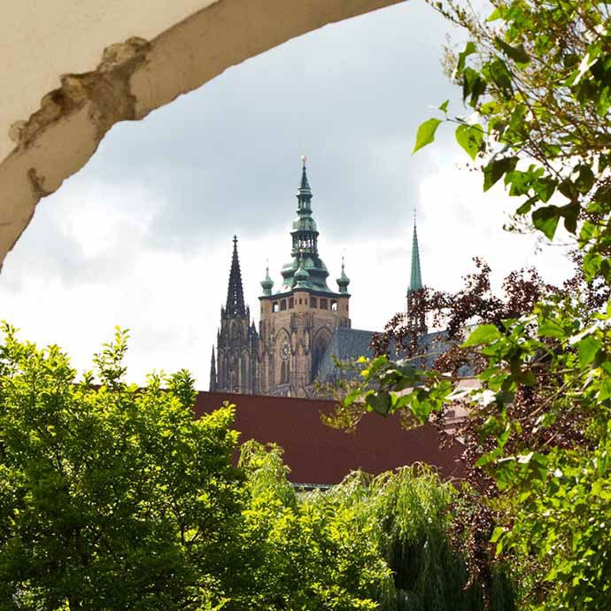 jardines de Praga: Jardín Vojan