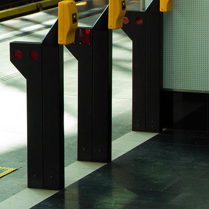 validación en el metro de praga
